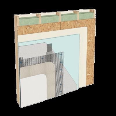 placare perete pe structura